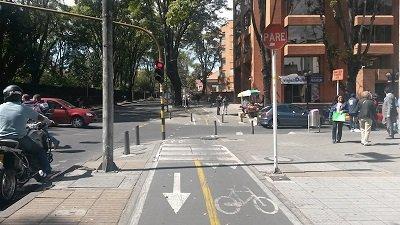 Carrera-11-con-Calle-75 ciclovia